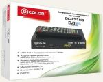 Ресивер DVB T2 D-COLOR DC711HD
